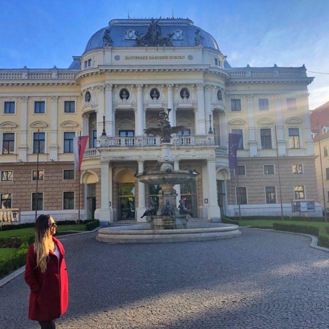 A beleza simples que cativa da Bratislava