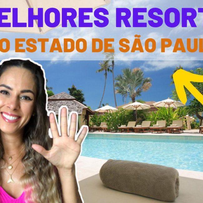 10 melhores resorts do Estado de São Paulo