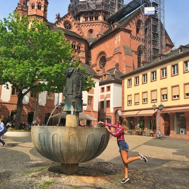 Bate-volta para Mainz